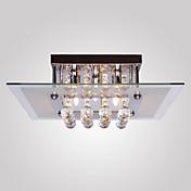 Montage de Flujo ,  Moderno / Contemporáneo Galvanizado Característica for Cristal Mini Estilo MetalSala de estar Comedor Habitación de