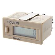 temporizador dhc3j contador mecánico digital electrónico mostrador contador digital digitales