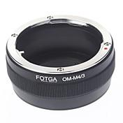 fotga® om-m4 / 3 lente de la cámara anillo adaptador / extensión digital