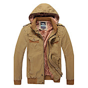 Lugeshi Men's Casual All Match Fashion Coat