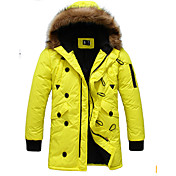 moda sudadera casual ropa de algodón acolchado térmico de Niki hombres