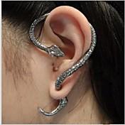 Mujer Puños del oído Joyería Destacada Estilo punk Personalizado Europeo joyería de disfraz Legierung Serpiente Joyas Para Boda Fiesta
