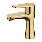 伝統風 組み合わせ式 回転可 with  セラミックバルブ 一つ シングルハンドルつの穴 for  ローズゴールド , バスルームのシンクの蛇口