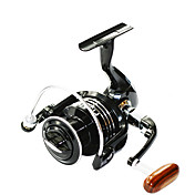Carrete Spinning / Carrete de la pesca Carretes para pesca spinning 4.7:1 13 Rodamientos de bolas -Manos / Zurdo / IntercambiablePesca de