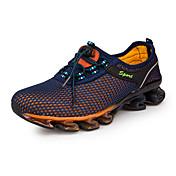 Hombre Zapatillas de Atletismo Running Confort Tul Primavera Verano Otoño Invierno Deportivo Casual Con Cordón Tacón PlanoAzul Oscuro