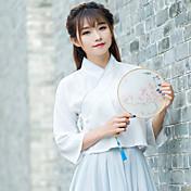 Signo de primavera nueva Han chino ropa elementos de las mujeres&# 39; s mejora los servicios para los estudiantes pequeños abrigo