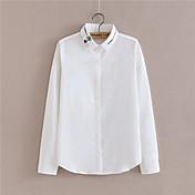 resorte nuevas de marea ventilador coreano ocupacionales ol blusas camisa de cuello blanco de manga larga blusa