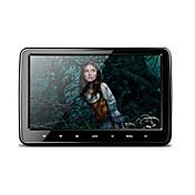 10.1 pulgadas 1024 * 600 hd pantalla tft digital ultra-delgado botón del tacto del coche botón dvd player con usb / sd / fm / ir / juego
