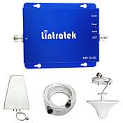lintratek 2グラム3グラムの携帯電話ブースターGSM 850MHzのの1900MHzのデュアルバンド信号ブースターCDMA個のUMTSアンプフルキット