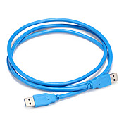 USB 3.0 Cable, USB 3.0 to USB 3.0 Cable Macho - Macho 1,5 m (5 pies)
