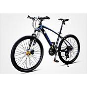 Bicicleta de Montaña Ciclismo 30 Velocidad 26 pulgadas/700CC Microshift 24 Disco de Freno Horquilla de suspenciónCuadro de Aleación de