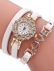 Žene Modni sat Narukvica Pogledajte Simulacija Dijamant Ručni sat Kineski Kvarc imitacija Diamond PU Grupa Pearls Neformalno Elegantno