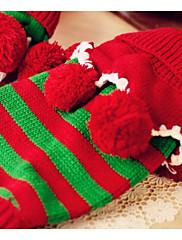 犬 セーター 犬用ウェア 保温 縞柄 レッド グリーン ハンターグリーン