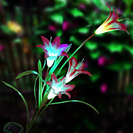 sol LED blomst lys (1049-cis-28.079)