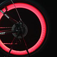 Luzes de Bicicleta luzes da roda Luzes de Tampa de Válvula Luz Frontal para Bicicleta LED Ciclismo backlight pilhas Lumens Bateria