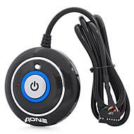 JM-202 Desktop Power Button Switch Module voor PC (zwart, 110cm-kabel)