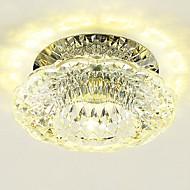 3W Contemprâneo Cristal / LED / Estilo Mini Montagem do FluxoSala de Estar / Quarto / Sala de Jantar / Cozinha / Banheiro / Quarto de