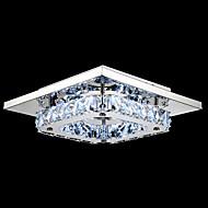 umei ™ johti Crystal uppoasennusmallia, 1 kevyt, moderni läpinäkyvä elektrolyyttistä ruostumaton teräs