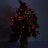 4M 3W 40-LED 210LM אור האדום LED רצועת אור לקישוטי חג המולד