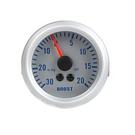 Turbo Boost Vácuo Medidor Medidor de Auto Car 2 0 ~ 52 milímetros 30in.Hg 0 ~ 20PSI Laranja Luz