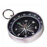 Kannettava Metal Kompassi avaimenperä (Large) - Silver