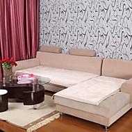 Elaine kratko pliš bordura lotus uzorak bež kauč jastuk 333561