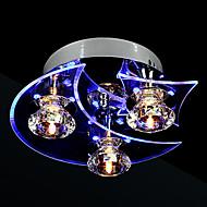 Uppoasennus ,  Moderni Galvanoitu Ominaisuus for Kristalli LED Metalli Living Room Makuuhuone Ruokailuhuone