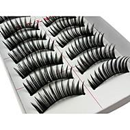 Cílios Cílios Pestana Alonga a Estremidade do Olho Volumizado Fibra