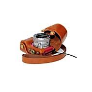 dengpin® lederen beschermhoes camera cover case tas opladen stijl voor Sony Alpha a5100 A5000 ilce-5100l nex-3n