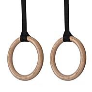 kylin sport ™ houten gymnastiekringen portable olympische gymnastische ringen voor CrossFit sportschool schouder kracht