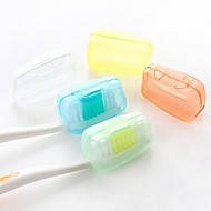 5個 旅行用歯ブラシ入れ 防水 抗菌 携帯式 ミニサイズ のために 洗面道具 食品グレード素材
