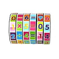 rotation éducatif des jouets de comptage des enfants