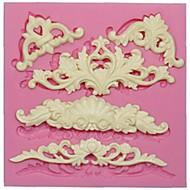 european blonder silikon mold for fondant kake dekorasjon