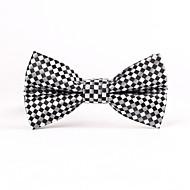 עניבות פרפר - רשת (שחור/אפור/אפור בהיר , polyster)