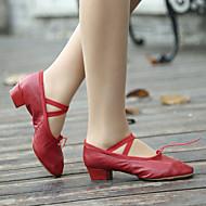 Sapatos de Dança (Preto/Rosa/Vermelho) - Mulheres - Não Personalizável - Sapatos para Ensaio