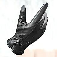 Перчатки Спортивные перчатки Муж. Перчатки для велосипедистов Осень / Зима Велоперчатки Сохраняет тепло / Ветронепроницаемый / Кожа овчины