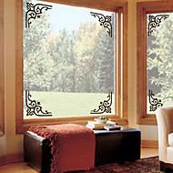Etiqueta da janela - Art Deco - ESTILO Contemporâneo