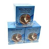 10 pcs remover descartável padrão de tatuagem washcloth