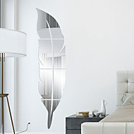 Feather DIY Mirror Acrylic Wall Stickers Wall Decals