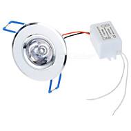 3W Panel 1 High Power LED 100-450 lm R GB Dálkové ovládání AC 85-265 V 1 ks