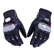 Motorcykel handsker Fuld Finger Polyutrethane / Bomuld / Nylon M / L / XL Sort