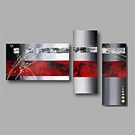 Hånd-malede AbstraktModerne Tre Paneler Kanvas Hang-Painted Oliemaleri For Hjem Dekoration