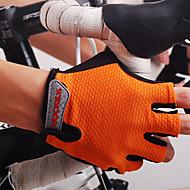 NUCKILY® Спортивные перчатки Жен. / Муж. Перчатки для велосипедистов Весна / Лето / Осень ВелоперчаткиУдаропрочность / Дышащий /