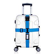 1枚 旅行かばん用ベルト 番号錠 耐久 調整可能 バッグ用小物 のために 耐久 調整可能 バッグ用小物 パープル グリーン ブルー ピンク 虹色