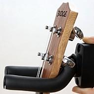 ronde plaat muur haak sterke hanger voor gitaar zwart
