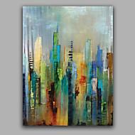 Hånd-malede Abstrakt Vertikal,Europæisk Stil Et Panel Kanvas Hang-Painted Oliemaleri For Hjem Dekoration