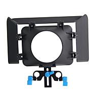 yelangu® yelangu kamera musta mattebox valmistettu abs digitaalikameran