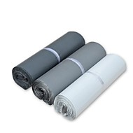 basekey 100 unidades parcela transporte saco poli correio de plástico bolsa mailer pós selo 170x300mm cor aleatória