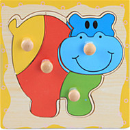 bébé intérêt éducatif trompettiste catch Puzzle en bois