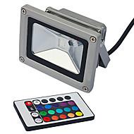 תאורה שוטפת לד 1 לד משתלב lm RGB עובד עם שלט רחוק AC 85-265 V